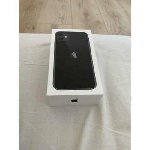 iPhone 11 64gb zwart